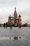 Saint Basil's Cathedral in Moscow, Russia Royalty Free Stock Photo