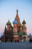 Saint Basil's cathedral in Moscow, Russia. Saint Basil's cathedral in Moscow. Red square Stock Photos