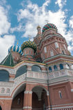 Saint Basil`s Cathedral in Moscow Royalty Free Stock Image