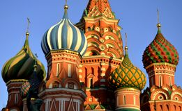 Saint Basil's Cathedral, Moscow, Russia Royalty Free Stock Photo