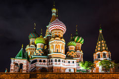 The Saint Basil's Cathedral Royalty Free Stock Image