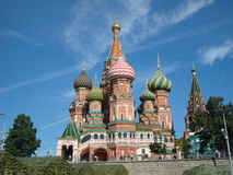 Saint Basil's Cathedral 2 Stock Photography