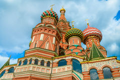 Saint Basil's Cathedral at Red Square in Moscow Royalty Free Stock Photography