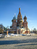 Saint Basil's Cathedral on Red Square in Moscow Royalty Free Stock Photography