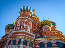 Saint Basil's Cathedral on Red Square in Moscow Royalty Free Stock Images
