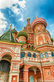 Saint Basil's Cathedral on Red Square in Moscow, Russia Royalty Free Stock Photos
