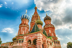 Saint Basil's Cathedral on Red Square in Moscow, Russia Stock Photo