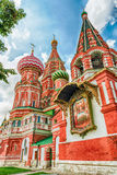 Saint Basil's Cathedral on Red Square in Moscow, Russia Royalty Free Stock Images