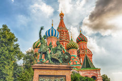 Saint Basil's Cathedral on Red Square in Moscow, Russia Royalty Free Stock Image