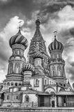 Saint Basil's Cathedral on Red Square in Moscow, Russia Stock Photography