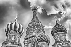 Saint Basil's Cathedral on Red Square in Moscow, Russia Royalty Free Stock Photography