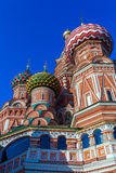 Saint Basil`s Cathedral in the Red Square, Moscow, Russia Stock Image