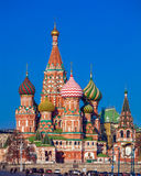 Saint Basil`s Cathedral in the Red Square, Moscow, Russia Royalty Free Stock Photo