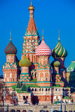 Saint Basil`s Cathedral in the Red Square, Moscow, Russia Royalty Free Stock Image