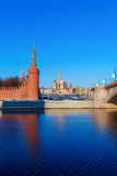 Saint Basil`s Cathedral in the Red Square, Moscow, Russia Royalty Free Stock Photos