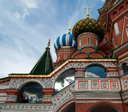 Saint Basil's Cathedral. Red Square, Moscow, Russian Federation Royalty Free Stock Photography