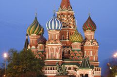 Saint Basils cathedral, Moscow Stock Image