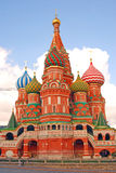 Saint Basils cathedral in Moscow Stock Photography