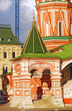Saint Basils cathedral in Moscow Stock Images