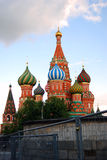 Saint Basils cathedral in Moscow Royalty Free Stock Images