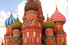 Saint Basils cathedral in Moscow Royalty Free Stock Photo