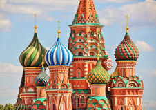Saint Basils Cathedral, Moscow, Russia Royalty Free Stock Photo