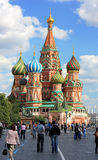 Saint Basils Cathedral, Moscow, Russia Royalty Free Stock Photography