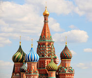 Saint Basils Cathedral, Moscow, Russia Royalty Free Stock Photos
