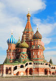 Saint Basils cathedral on Red Square in Moscow Royalty Free Stock Photography