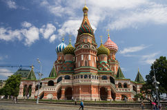 Saint Basils Cathedral at the Red Square Royalty Free Stock Photo