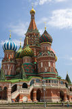 Saint Basils Cathedral at the Red Square Royalty Free Stock Photos