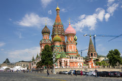 Saint Basils Cathedral at the Red Square Royalty Free Stock Image