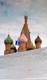 Saint Basils church. Red Square in Moscow. UNESCO Heritage. Stock Photography