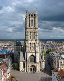 Saint Bavo Cathedral in Ghent, Belgium Royalty Free Stock Photography
