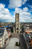 Saint Bavo Cathedral. Ghent, Belgium Royalty Free Stock Photography