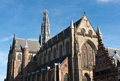 Saint Bavo Cathedral in Haarlem Royalty Free Stock Images