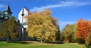 Saint Benedict Abbey in Saint-Benoit-du-Lac Royalty Free Stock Image