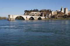 Saint-Benezet bridge Royalty Free Stock Images
