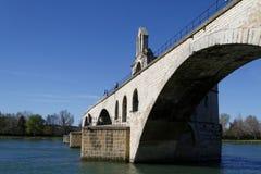 Saint-Benezet bridge Stock Image