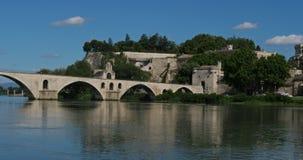 The Saint Benezet bridge, Avignon, Vaucluse department, France
