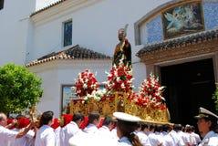 Saint Bernard Float, Marbella. Royalty Free Stock Image