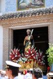 Saint Bernard Procession, Marbella. Stock Photo