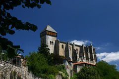Saint-Bertrand de Comminges Royalty Free Stock Photography