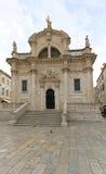 Saint Blaise Church Royalty Free Stock Photos