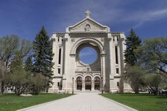 Saint Boniface Cathedral stock images