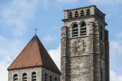 Saint Brise Church in Tournai, Belgium Royalty Free Stock Images