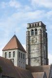 Saint Brise Church in Tournai, Belgium Stock Photo