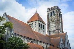 Saint Brise Church in Tournai, Belgium Royalty Free Stock Photo