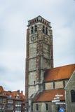 Saint Brise Church in Tournai, Belgium Stock Photos