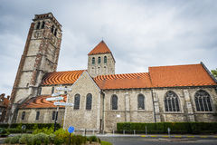 Saint Brise Church in Tournai, Belgium Royalty Free Stock Image